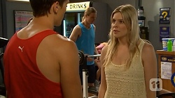 Josh Willis, Amber Turner in Neighbours Episode 6835