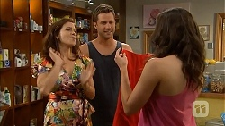 Rebecca Napier, Mark Brennan, Kate Ramsay in Neighbours Episode 6835