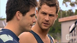 Chris Pappas, Mark Brennan in Neighbours Episode 6835