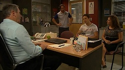 Karl Kennedy, Brad Willis, Josh Willis, Terese Willis in Neighbours Episode 6836