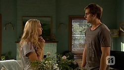 Georgia Brooks, Kyle Canning in Neighbours Episode 6836