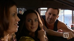 Rebecca Napier, Kate Ramsay, Mark Brennan in Neighbours Episode 6838