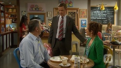 Karl Kennedy, Paul Robinson, Susan Kennedy in Neighbours Episode 6839