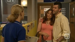 Georgia Brooks, Felicity Maxwell, Sam Maxwell in Neighbours Episode 6839