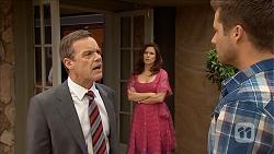Paul Robinson, Rebecca Napier, Mark Brennan in Neighbours Episode 6839