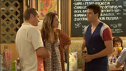 Toadie Rebecchi, Sonya Rebecchi, Chris Pappas in Neighbours Episode 6840