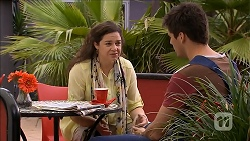 Patricia Pappas, Chris Pappas in Neighbours Episode 6840