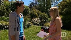 Josh Willis, Amber Turner in Neighbours Episode 6841
