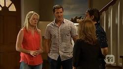 Lauren Turner, Matt Turner, Brad Willis, Terese Willis in Neighbours Episode 6841