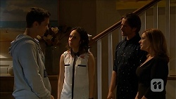 Josh Willis, Imogen Willis, Brad Willis, Terese Willis in Neighbours Episode 6841