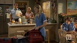 Matt Turner, Lauren Turner, Amber Turner, Bailey Turner in Neighbours Episode 6842