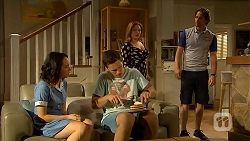 Imogen Willis, Josh Willis, Terese Willis, Brad Willis in Neighbours Episode 6842