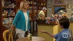 Kathy Carpenter, Lou Carpenter, Bailey Turner in Neighbours Episode 6842