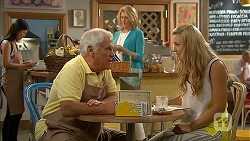 Lou Carpenter, Kathy Carpenter, Georgia Brooks in Neighbours Episode 6842