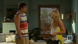 Kyle Canning, Georgia Brooks in Neighbours Episode 6843
