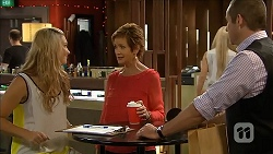 Georgia Brooks, Susan Kennedy, Toadie Rebecchi in Neighbours Episode 6843