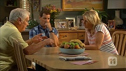 Lou Carpenter, Matt Turner, Lauren Turner in Neighbours Episode 6843