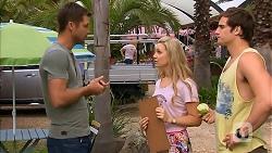 Mark Brennan, Georgia Brooks, Kyle Canning in Neighbours Episode 6844