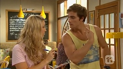 Georgia Brooks, Kyle Canning in Neighbours Episode 6844