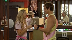 Georgia Brooks, Kyle Canning in Neighbours Episode 6845