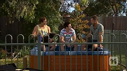 Kyle Canning, Chris Pappas, Mark Brennan in Neighbours Episode 6845