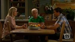 Lauren Turner, Lou Carpenter, Matt Turner in Neighbours Episode 6848