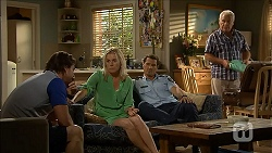 Brad Willis, Lauren Turner, Matt Turner, Lou Carpenter in Neighbours Episode 6849