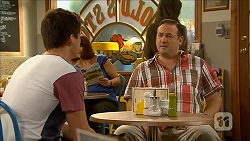 Chris Pappas, George Pappas in Neighbours Episode 6850