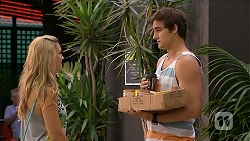 Georgia Brooks, Kyle Canning in Neighbours Episode 6850