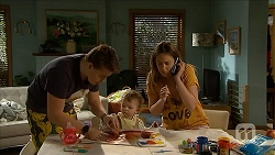 Callum Rebecchi, Nell Rebecchi, Sonya Rebecchi in Neighbours Episode 6851