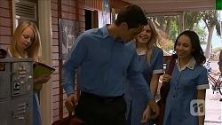 Josh Willis, Amber Turner, Imogen Willis in Neighbours Episode 6852