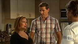 Terese Willis, Matt Turner, Brad Willis in Neighbours Episode 6852