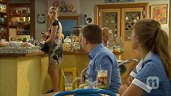 Talia Maslin, Callum Rebecchi, Josie Lamb in Neighbours Episode 6852