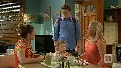 Sonya Rebecchi, Nell Rebecchi, Callum Rebecchi, Lauren Turner in Neighbours Episode 6852