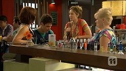 Naomi Canning, Chris Pappas, Sonya Rebecchi, Sheila Canning in Neighbours Episode 6853