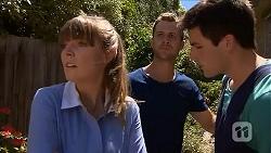 Danni Ferguson, Mark Brennan, Chris Pappas in Neighbours Episode 6853