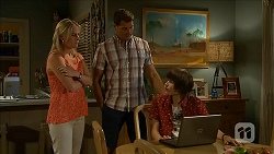 Lauren Turner, Matt Turner, Bailey Turner in Neighbours Episode 6854