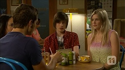 Josh Willis, Bailey Turner, Amber Turner in Neighbours Episode 6854