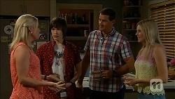 Lauren Turner, Bailey Turner, Matt Turner, Amber Turner in Neighbours Episode 6854
