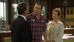 Paul Robinson, Karl Kennedy, Susan Kennedy in Neighbours Episode 6855