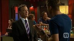 Paul Robinson, Terese Willis, Brad Willis, Mark Brennan in Neighbours Episode 6855