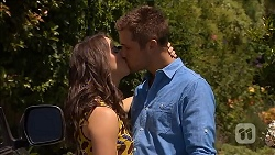 Kate Ramsay, Mark Brennan in Neighbours Episode 6856