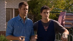 Mark Brennan, Chris Pappas in Neighbours Episode 6856