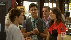 Susan Kennedy, Zeke Kinski, Paul Robinson, Sophie Ramsay in Neighbours Episode 6856