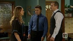 Sonya Rebecchi, Callum Rebecchi, Toadie Rebecchi in Neighbours Episode 6857