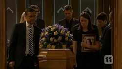 Paul Robinson, Mark Brennan, Sophie Ramsay in Neighbours Episode 6857