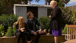 Georgia Brooks, Kyle Canning, Sheila Canning in Neighbours Episode 6857