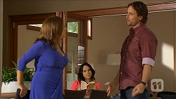 Terese Willis, Imogen Willis, Brad Willis in Neighbours Episode 6858