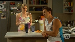 Amber Turner, Josh Willis in Neighbours Episode 6858
