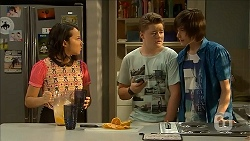 Imogen Willis, Callum Jones, Bailey Turner in Neighbours Episode 6858